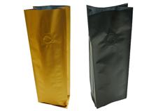 Kaffeeverpackung mit Seitenfalte
