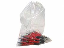 Zuziehbeutel aus LDPE, transparent - 50my