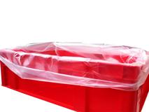 Seitenfaltenbeutel aus HDPE für E2-Kisten