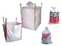 Big-Bags - Asbestsäcke - Bändchengewebesäcke für Entsorgungs- / Transportzwecke