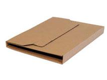 MULTIWELL Medienverpackungen aus brauner Wellpappe, braun