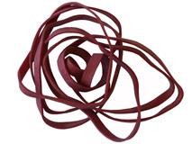 Gummiband - Farbe: rot