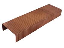 Heftklammer 35x15 mm (TYP B 5/8) - verkupfert für Kartonverschlusshefter manuell- und druckluftbetrieben