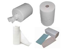 Papierhandtücher - Putzpapierrollen