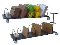 Kartoncaddy für Faltschachteln
