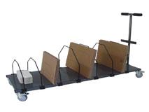 Kartoncaddy für Faltschachteln - mit Transportgriff