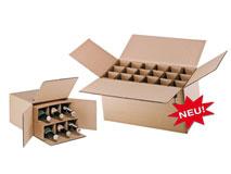 Flaschenverpackung für 0,33l - 0,5l – Flaschen