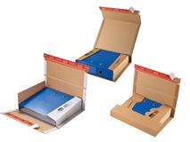 Ordner-Versandverpackungen aus Wellpappe ColomPac CP 050 – CP 055