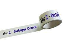 PVC-Packband bedruckt - 2-farbig
