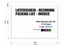 Dokumententaschen bedruckt - DIN C5 - mit Ihrem individuellen Firmenlogo
