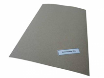 Stopfpapier - grau - Bogenware