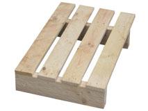 Einwegpaletten aus Holz 400x600 mm