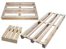 Einwegpaletten aus Holz - IPPC behandelt
