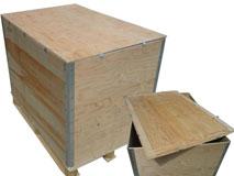 Sperrholz-Container faltbar - Modell No Lasch