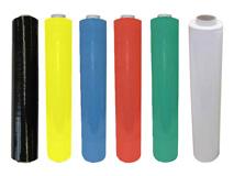 PE-Handstretchfolie, farbig