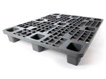 Kunststoffpaletten aus Polyolefin, uv-stabil - wetterbeständig 1000x1200 mm