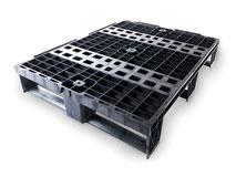 Kunststoffpaletten aus Polyolefin, uv-stabil - wetterbeständig 600x800 mm