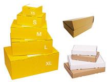 Faltschachteln für Postversand