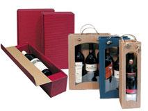 Präsentverpackung für Flaschen