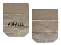 Abfallbeutel aus Papier