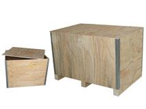 Sperrholz-Container faltbar - Modell Standard