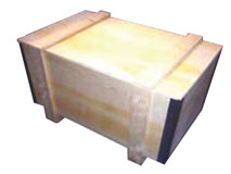 Sperrholz-Container faltbar - Modell Ringleisten