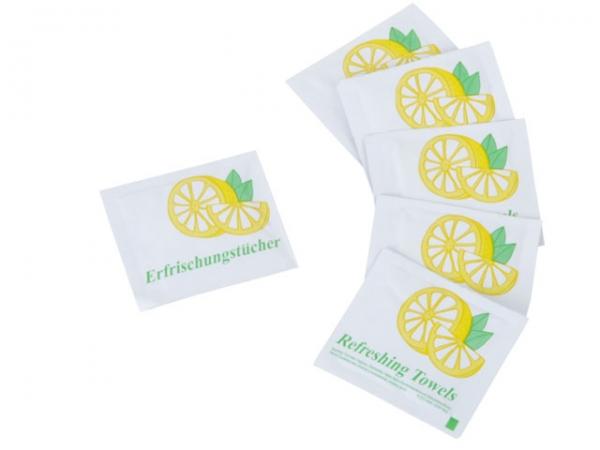 Citrus-Erfrischungstücher