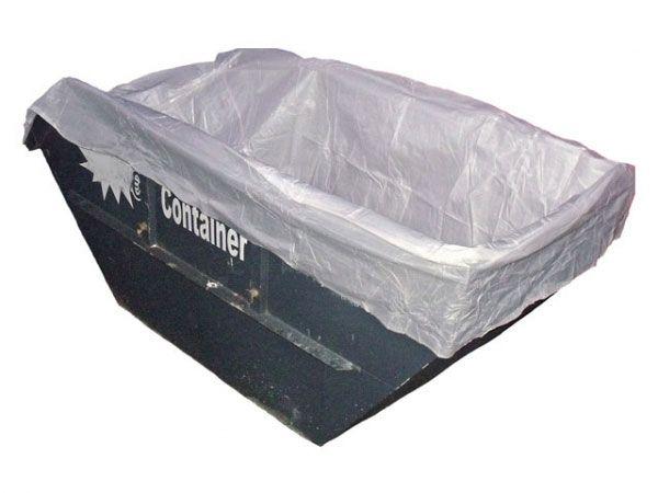 Containerbags für Absetzmulden, weiß - 400/210x170x190 cm