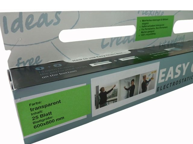 Easy Chart Box, transparent - 600x800 mm