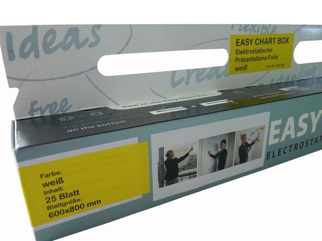 Easy Chart Box, weiß - 600x800 mm