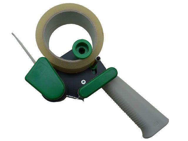 Abroller für 50 mm breites Packband - lautes Band leise abrollen
