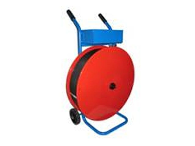 Abrollwagen - Umreifungsbänder aus Kunststoff - PP oder PET - Kern: 200, 280 und 406 mm