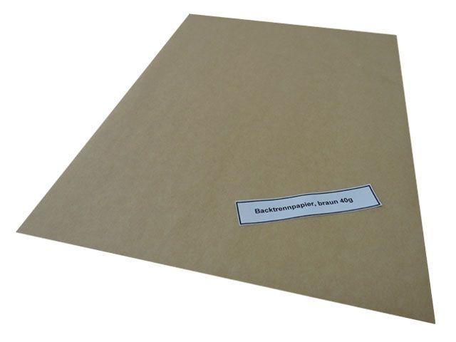 Backtrennpapier - 400x600 mm - Qualität: 40 g/m²