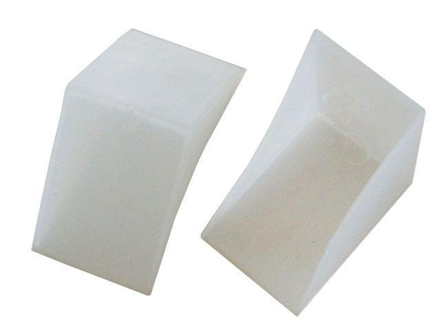 Eckenschutz-Taschen aus PE - 39mm breit / 78mm Schenkellänge
