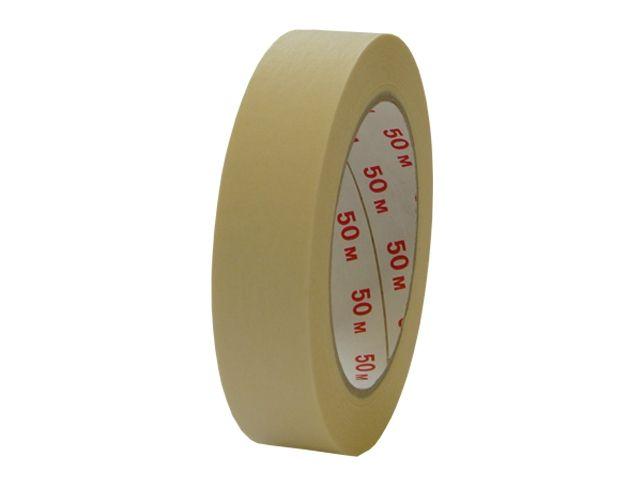 Abdeckband für Maler - 25mmx50m (Papierabdeckband Krepp 262 - chamois)