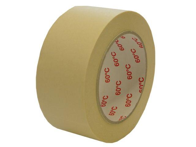 Abdeckband für Maler - 38mmx50m - bis 60° Celsius (Papierabdeckband Krepp 225 - weiss)