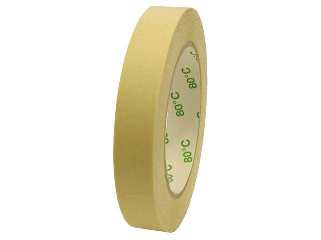 Abdeckband für Autolackierer - 38mmx50m - bis 80° Celsius (Papierabdeckband Krepp 227 - weiss)