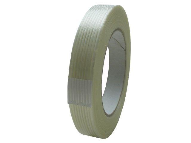 Filamentklebeband 312, glasfaserverstärkt in Längsrichtung - 19mmx50m