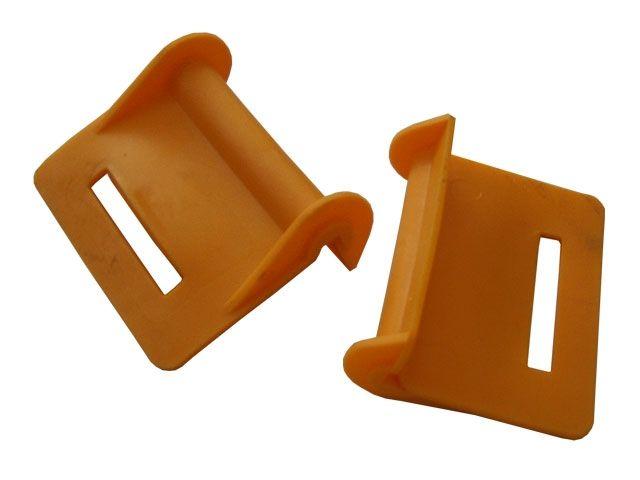 Kantenschützer zur Fasssicherung 70x50x20 mm - max. Bandbreite 50 mm - mit Schlitz