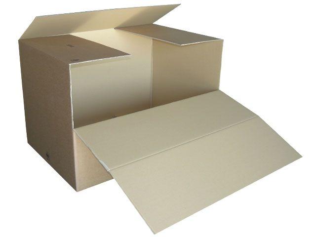 Wellpapp Container, braun - 1180x780x765 mm - 2.4 - zweiwellig - Kleinmengen
