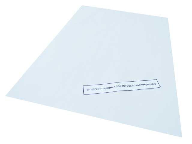 Zeitungsdruckpapier, beidseitig glatt - 50x75cm - 12,5 Kg Pakete