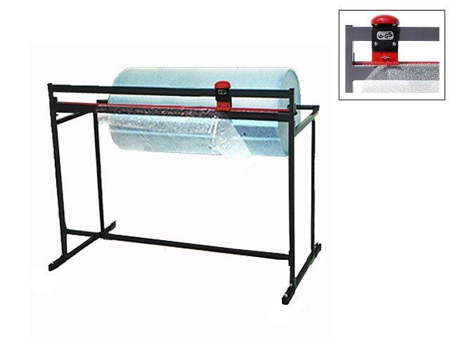 Schneidständer bis 125 cm Rollenbreite für Packpapier oder Luftpolsterfolie - feststehend
