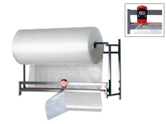 Schneidgerät für Wandbefestigung bis 150 cm Rollenbreite - Messer oben