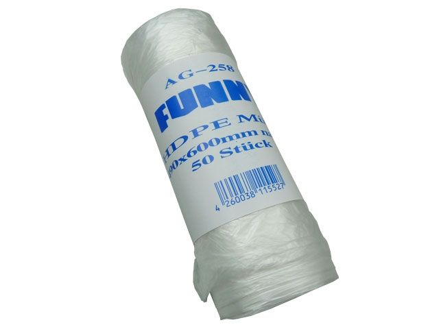 Abfallbeutel aus HDPE, transparent - 30 Liter - 490x600 mm