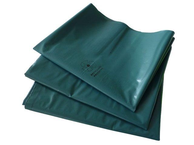 Abfallbeutel aus LDPE, blau - für Großbehälter - 240 Liter - Typ 100 gigant (85my) - 650/550x1350 mm