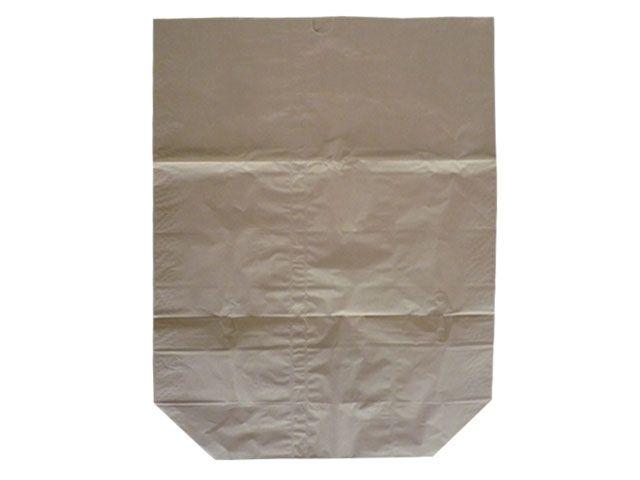 Abfallbeutel aus Papier, braun - 120 Liter - 700x950+220 mm