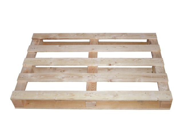Einwegpaletten aus Holz 800x1200 mm - IPPC-behandelt - 17 mm Deckbretter