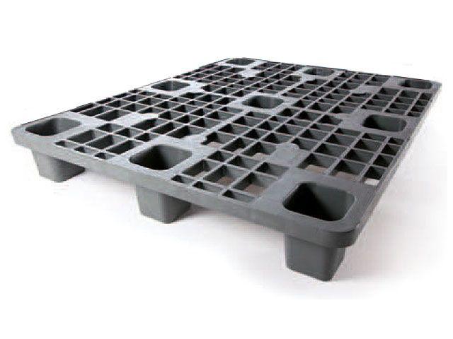 Kunststoffpaletten aus Polyolefin, uv-stabil – wetterbeständig - 1000x1200x150 mm - bis 2500 Kg belastbar