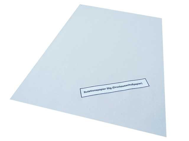 Rotationspapier / Zeitungsdruckpapier, beidseitig rau - 50x75 cm - 5 Kg Pakete