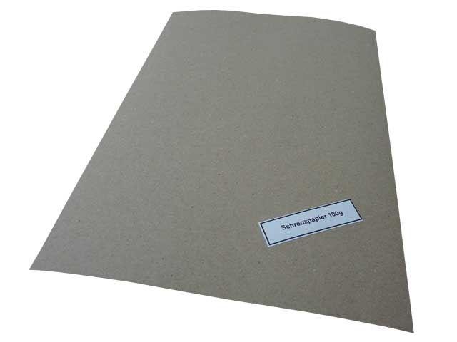 Stopfpapier, grau - 75x100 cm - Qualität: 100 g/m²